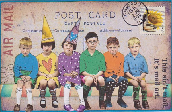 bockel24 - mail art postcard
