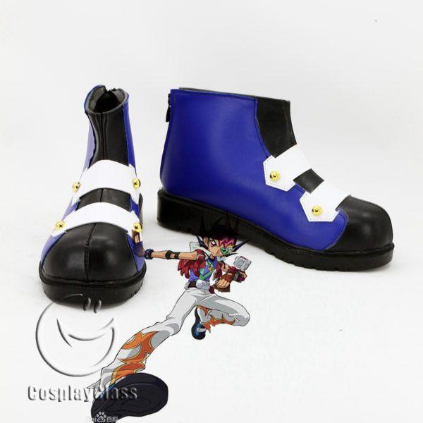 Yu-Gi-Oh! ZEXAL Yuma Tsukumo/Tsukumo Yuma Cosplay Shoes – CosplayClass  #YuGiOhZEXAL   #YumaTsukumocosplay  #TsukumoYumaCosplay #Shoes  #cosplayclass
