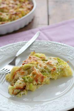 Patate al forno con verza e asiago | Fables de Sucre