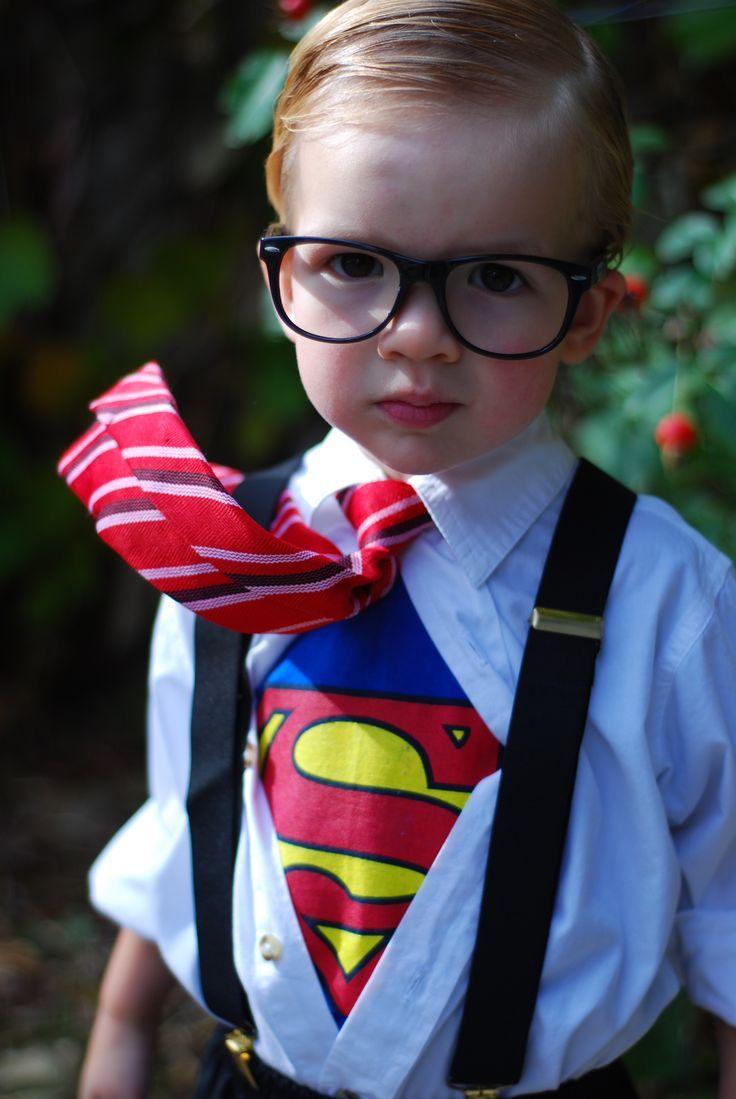 How to make a Superman Halloween costume | Clark Kent, Superman ...