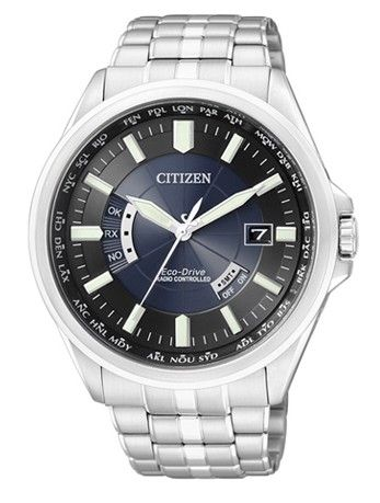 Montre Citizen Promaster Eco-Drive Radio Pilotée CB0011-51L, l'heure se synchronise automatiquement grâce au signal satellite, fonction calendrier perpétuel.