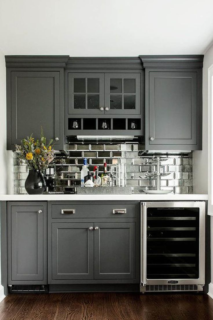 Kitchen Backsplash Grey best 25+ gray kitchens ideas only on pinterest | grey cabinets