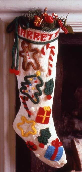 Christmas threw up on this stocking, but the icord designs have major possibilities