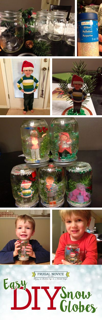 How To: DIY Custom Snow Globes – Frugal Novice