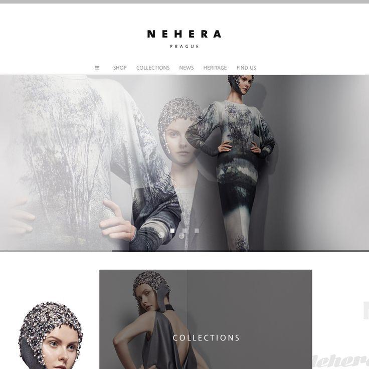 NEHERA PRAGUE / identity / web