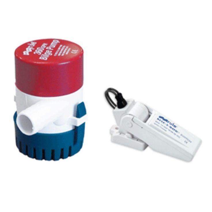 Rule 360 G.P.H. Bilge Pump w-Rule-A-Matic® Float Switch