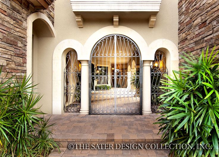 77 best Courtyard House Plans - The Sater Design ...