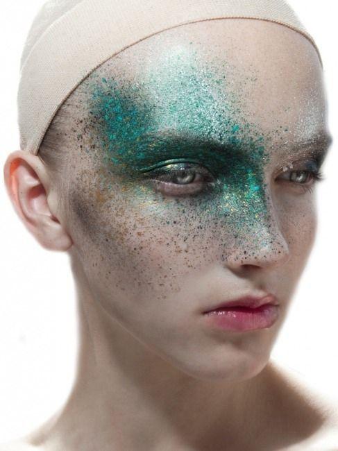 Сумасшедший макияж (подборка)