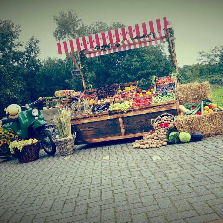 Unser Marktstand-Erntedankfest 2015