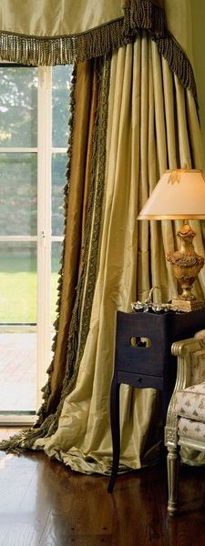 tuscan window treatments are great home decor ideas