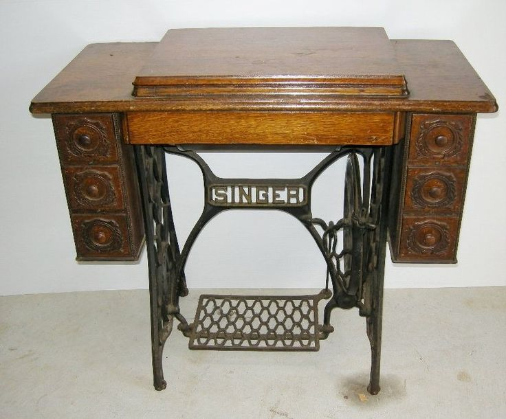 My Mother has one of these that belonged to my grandmother. I loved to play with the treadle.