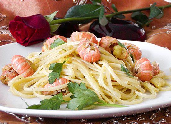 Italiaans pastagerecht: linguine met scampi's - Koken met Trendy Recepten
