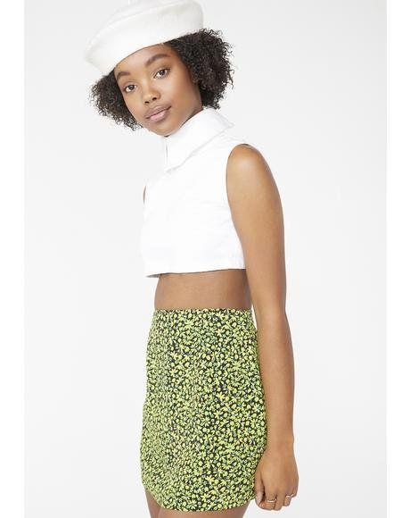 aa9fc9232 Vintage 90s Floral Mini Skirt #dollskill #vintage #recycle #floral #mini # skirt