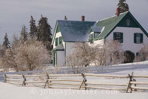Anne of Green Gables Home, Cavendish, Prince Edward Island. John Sylvester Photographer