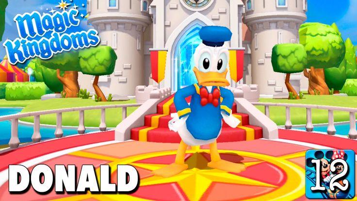 Bienvenido Donald / Juego Disney Magic Kingdoms - Gameplay