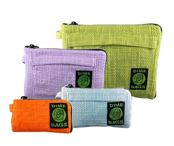 Dime bags assorted pouches perfect for your pipe or on the go smoke kit