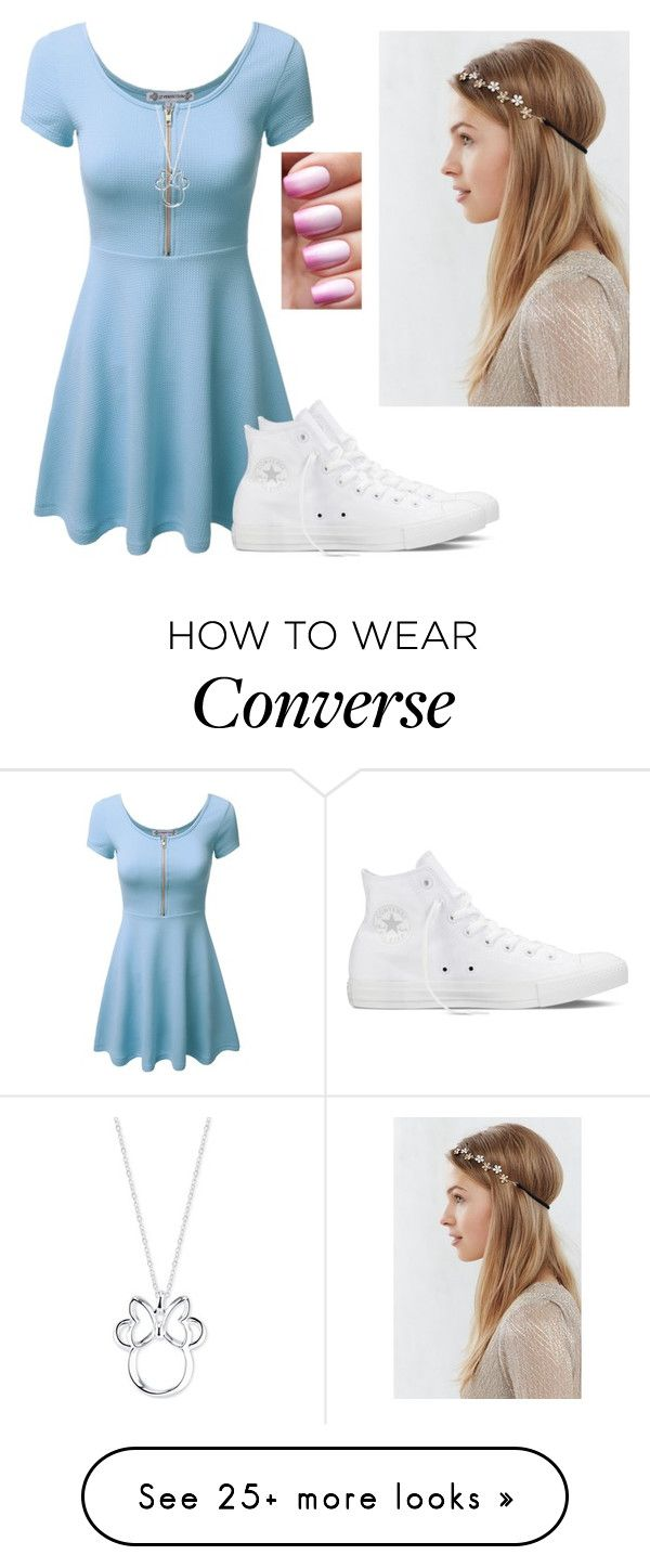 """""""I see"""" by hannahmcpherson12 on Polyvore featuring Converse, Disney, women's clothing, women, female, woman, misses and juniors"""