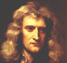 Isac Newton (He also did alchemy, who knew)