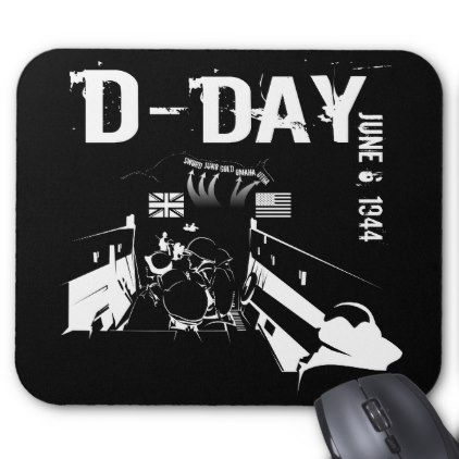 #D-DAY 6th Juni 1944 Mouse Pad - #office #gifts #giftideas #business
