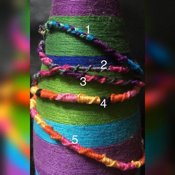 Custom Chinese Staircase Anklet/Bracelet by MelsStringsAndThings