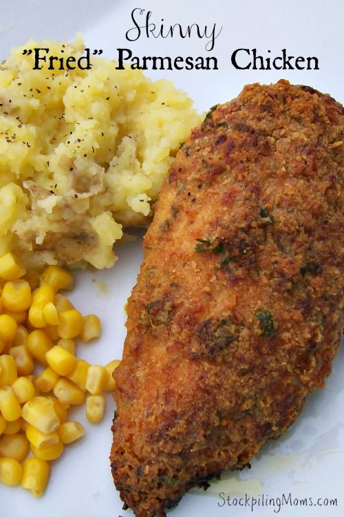 ... Chicken on Pinterest | Parmesan Crusted, Crusted Chicken and Chicken