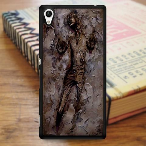 Watercolor Art Han Solo In Carbonite Star Wars Sony Experia Z4 Case