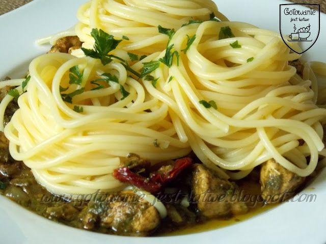 Gotowanie jest łatwe: Spaghetti z kurczakiem
