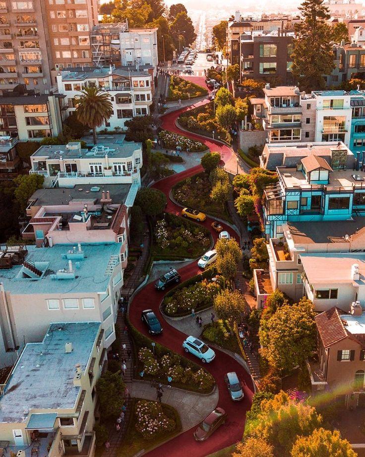 Lombard Street San Francisco by elniniocamo by