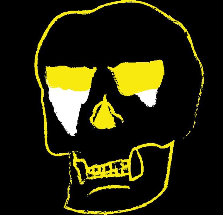 Butter Nemesis Skull Logo, Band