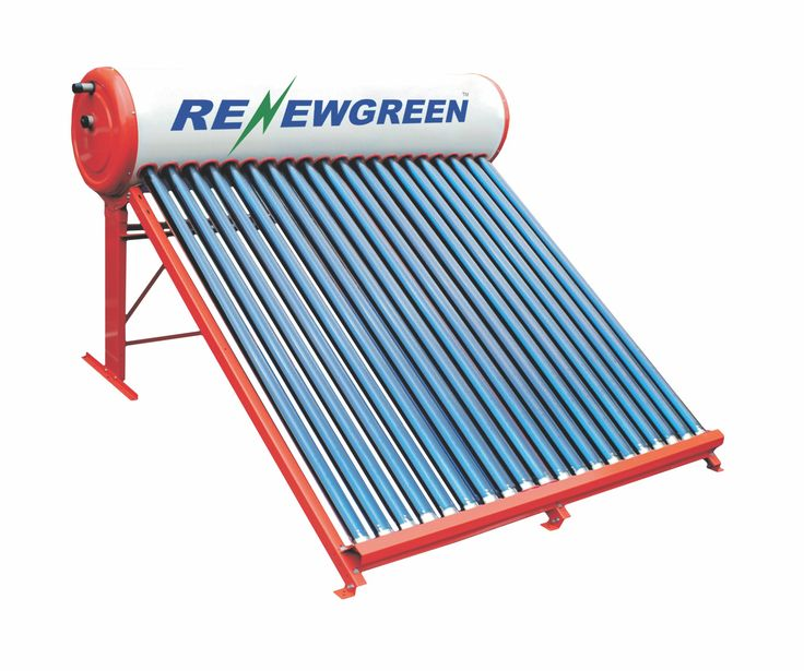 Solar Water Heater   http://www.renewgreen.in/renewgreen-solar-water-heater.php  Solar Water Heater price varies as size of system changes. A 100 LPD capacity system can save your electricity up to 5000 Rs per year. Visit following link to check features & the technical specifications of solar water heater.  #Renewgreensolar #WaterHeater #SolarWaterHeater #Solarpower