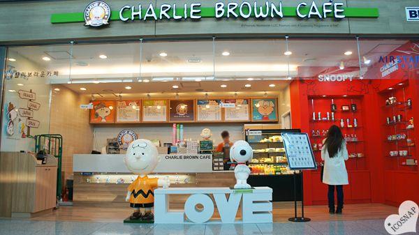 Charlie Brown Cafe Snoopy Seoul Incheon Korea