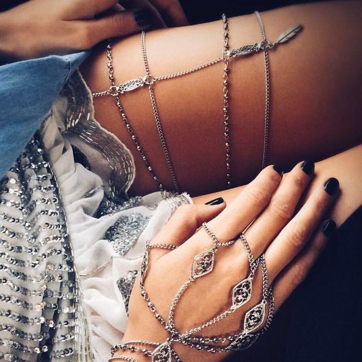 Leg chain Emma - Comprar en Shibinda Accesorios