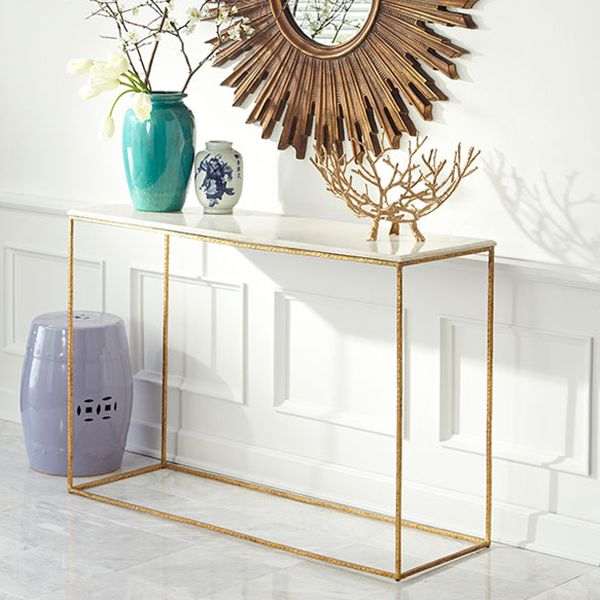 Wisteria - Furniture - Shop by Category - Consoles & Buffets - Gold Leaf Collection - Console