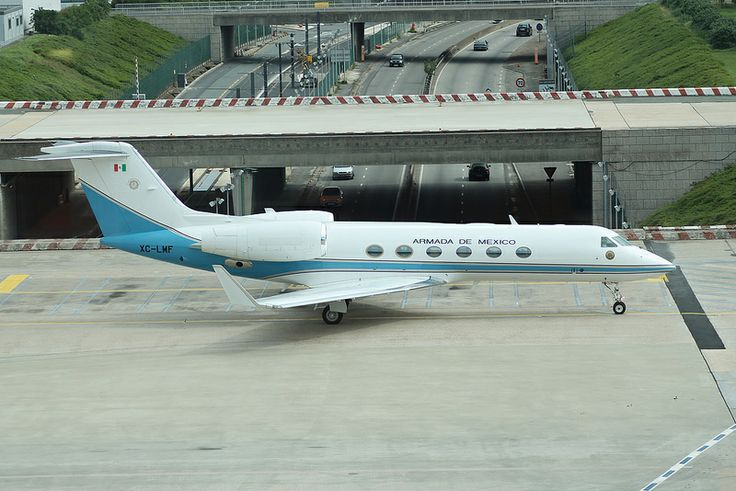 Gulfstream: 4128 XC-LMF Gulfstream G450 Armada de Mexico Paris Orly Airport