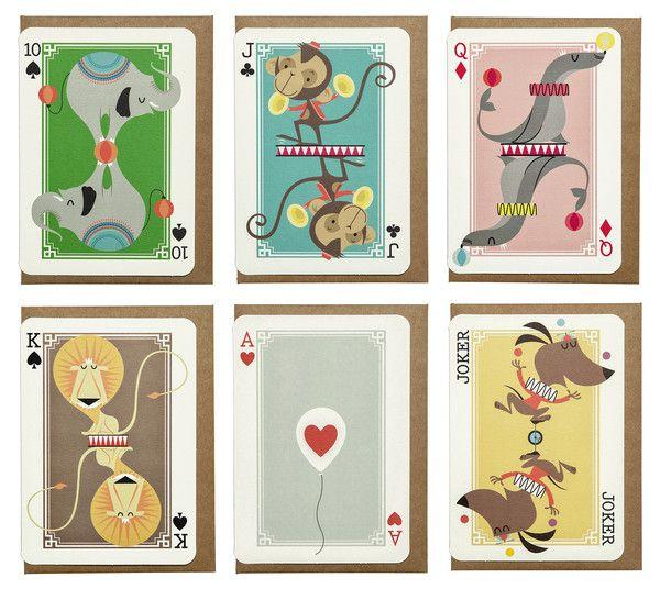 Carte da gioco illustrate
