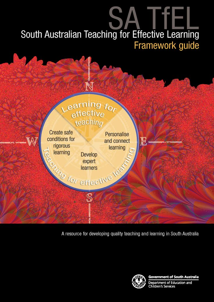 Download the Teaching for Effective Learning (TfEL) framework guide from the Department for Education and Child Development website - http://bit.ly/TfELFramewkGuide  See also: * Leading learning: making the Australian Curriculum work for us http://acleadersresource.sa.edu.au * TfEL Teachers Companion Facebook Group: facebook.com/groups/TfELTalk * Teaching and Learning in South Australia YouTube: youtube.com/c/SATeachLearn  #TfELTalk #TfEL #TeachingForEffectiveLearning #DECD #ResultsPLUS