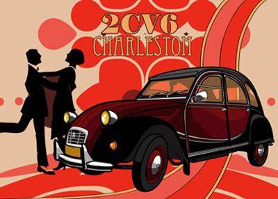 2CV6 Charleston suits my love for the roaring twenties