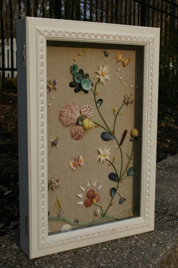 1000 ideas about seashell shadow boxes on pinterest for Ideas for displaying seashells