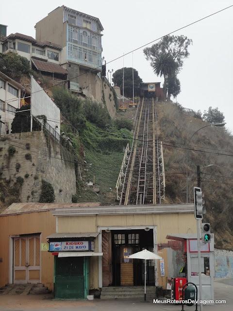 Ascensor Artilleria - Valparaiso, Chile