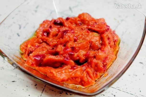 Zázvorovo-rebarborové čatní - Recept