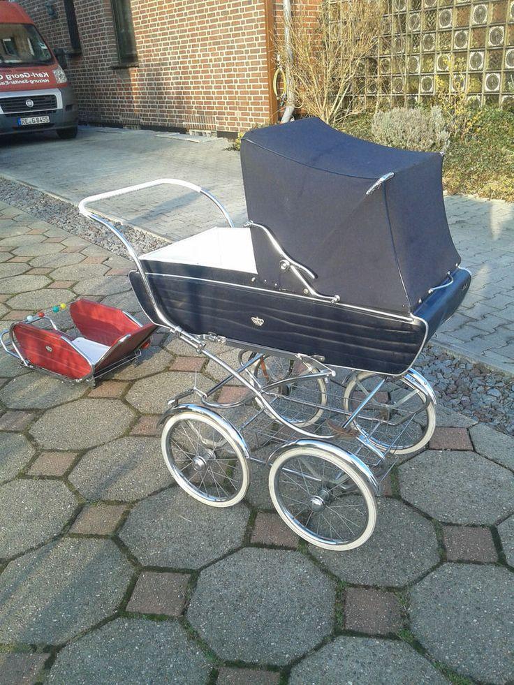 Nostalgie Kinderwagen von van Delft mit Sportwagen in Baby ...