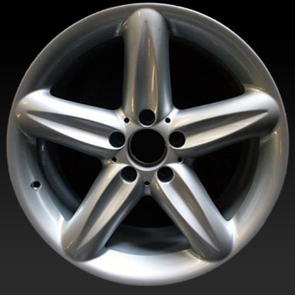 "Mercedes SL500 wheels for sale 2004-2006. 18"" Hypersilver rims 65323 - http://www.rtwwheels.com/store/shop/mercedes-sl500-wheels-for-sale-hypersilver-65323/"