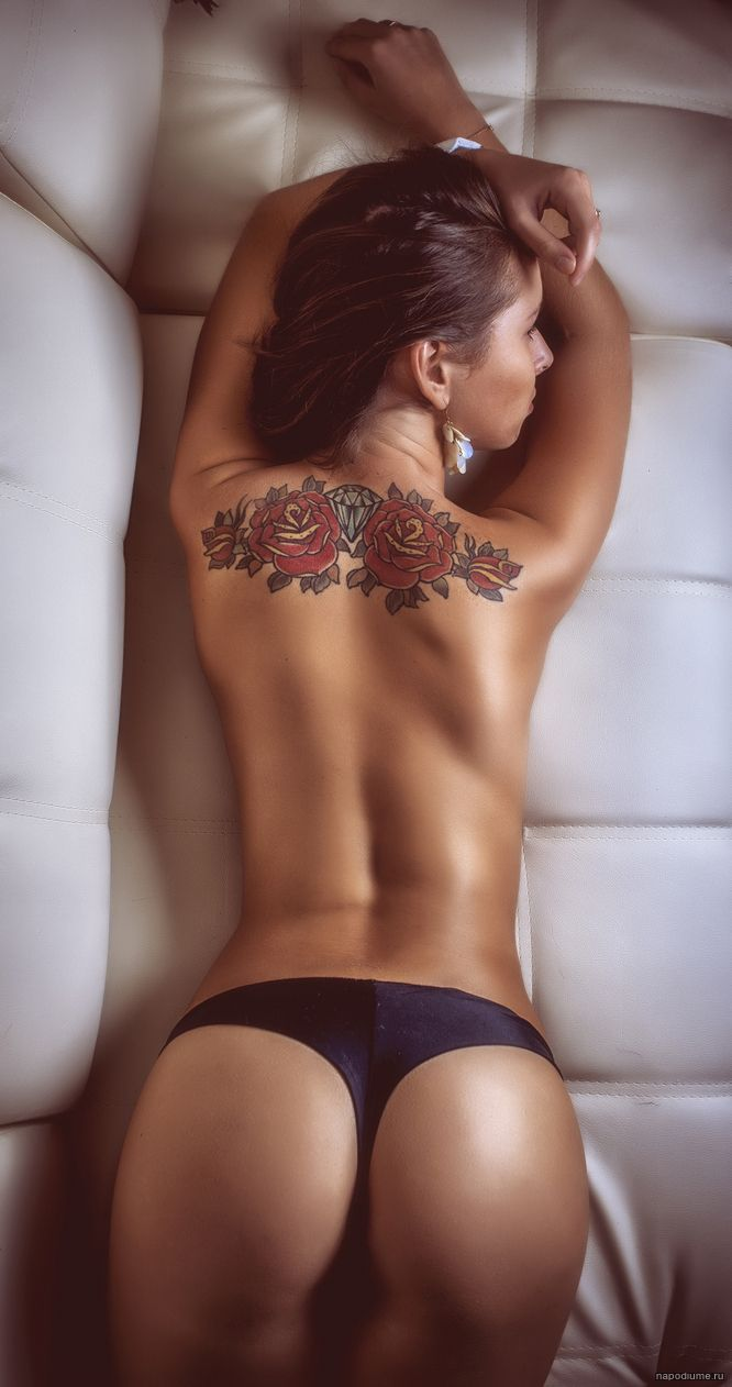 tattoo in girl ass