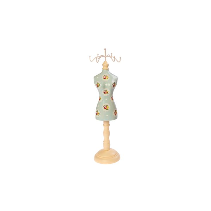 Victoria Jewellery Mannequin - Light Blue. 10€ Buy now here http://www.smallthings.gr/shop/bath-room/victoria-mannequin-jewelry-stand/#.VL-4WC53AxI