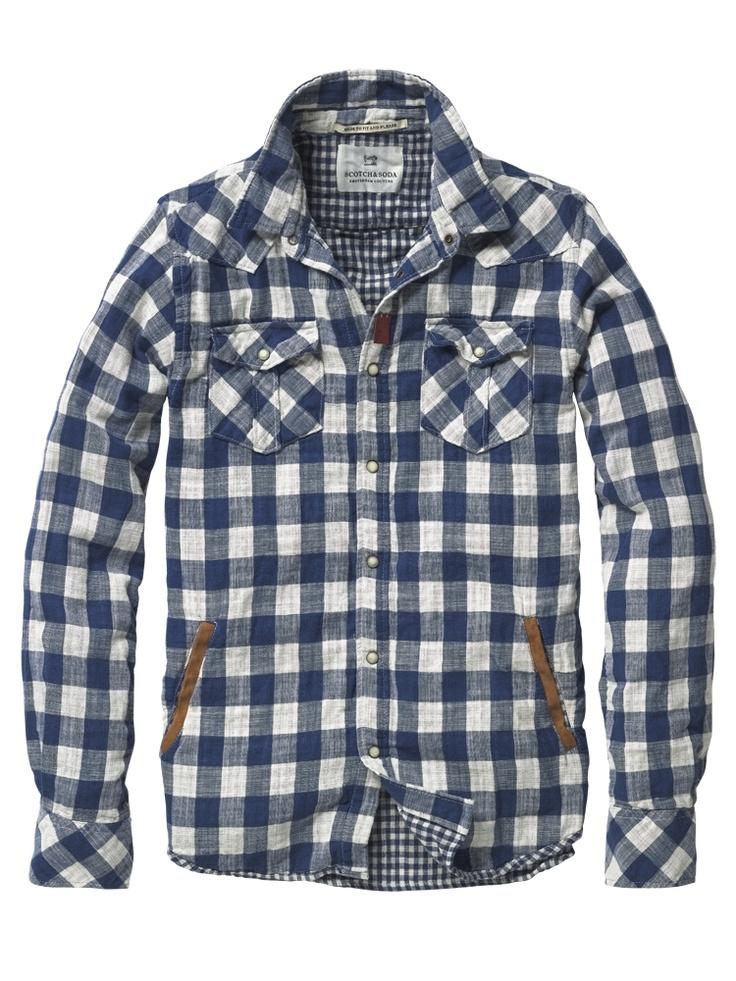 bonded cotton shirt.