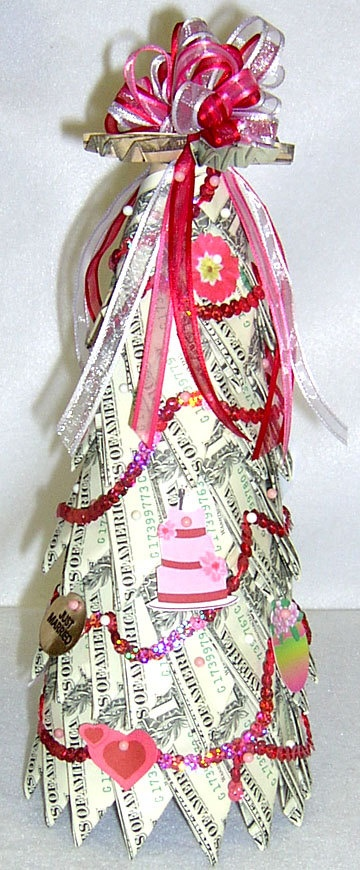 Wedding Money Tree by ConniesCreations2010 on Etsy, $65.00