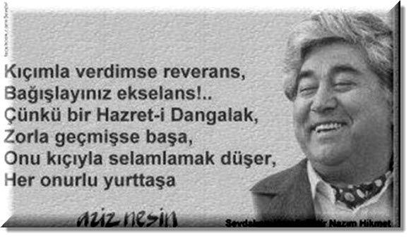 #RecepTayyipErdogan #AKP #Akparti #BenimCumhurbaskanimDegil   (Aziz Nesin-Büyük ADAM)