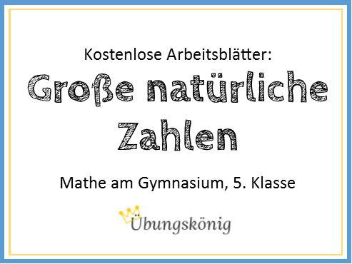 12 besten Mathe | Gymnasium Bilder auf Pinterest | Klasse, Bildung ...