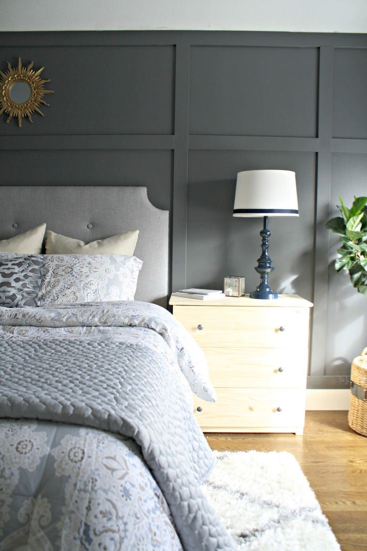 Best 25+ Wall behind bed ideas on Pinterest | Grey bedroom ...
