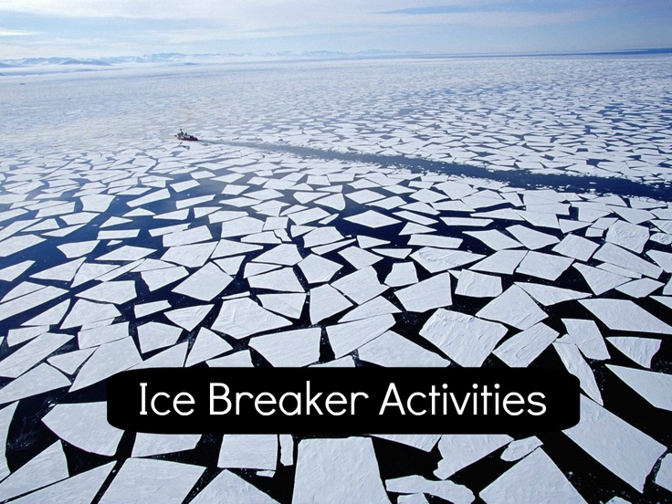 A bundle of ice breaker activities for the first day back at school